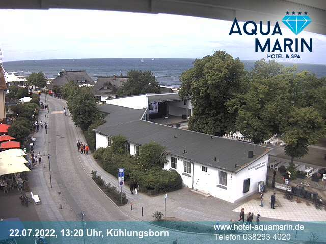 Webcam Kühlungsborn West Baltic Platz
